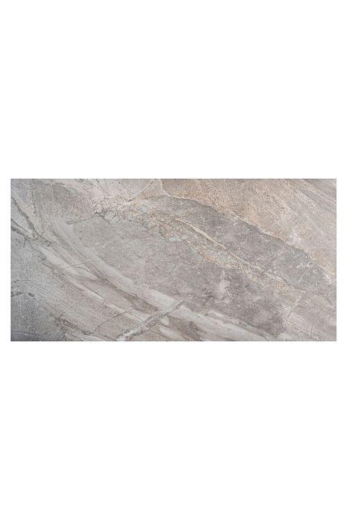 Gres ploščica Denver (31 x 61,8 cm, siva, glazirana, R9)