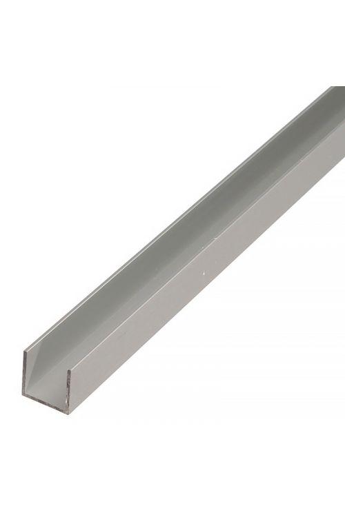 Aluminijasti U profil Stabilit (2.000 x 25 x 25 mm, debelina: 2 mm, eloksiran aluminij)
