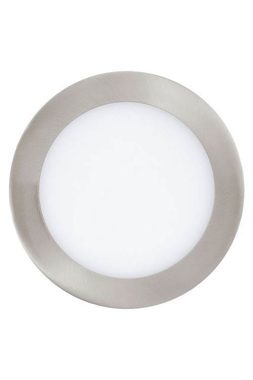 Vgradna LED-svetilka Tween Light (10,9 W, toplo bela, premer: 170 mm, nikelj, mat)
