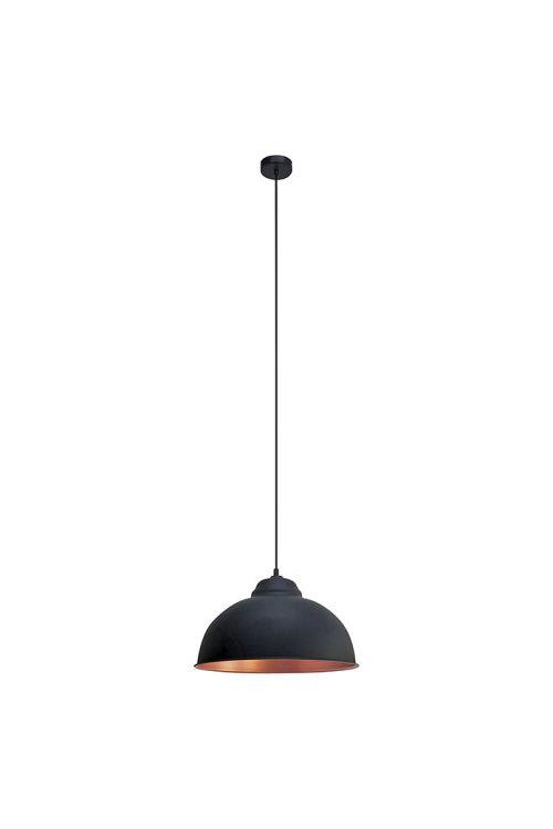 Viseča svetilka Eglo (1 svetilo, maks. moč: 60 W, E27, črna/baker)