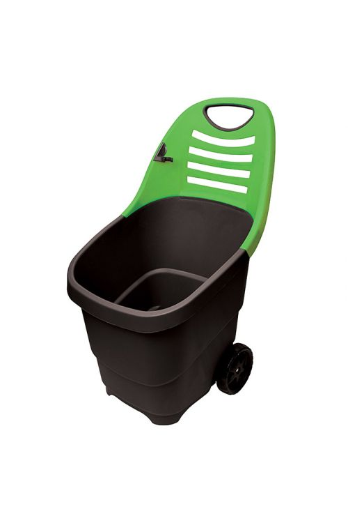 Vrtni voziček (zelen/bež, prostornina: 65 l)