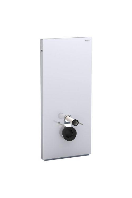 Sanitarni modul Geberit Monolith (predstenska montaža za stensko WC školjko, dvokoličinsko splakovanje, bela, 10,6 x 50,5 x 114 cm)