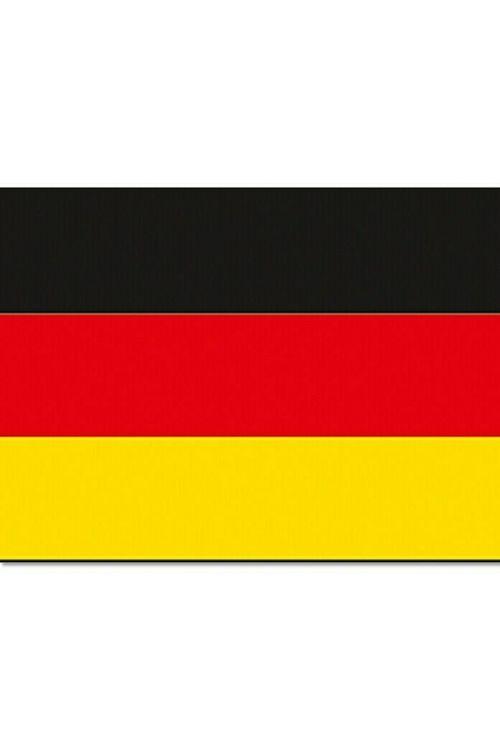 Zastava za čoln Nemčija (30 x 20 cm, poliester)