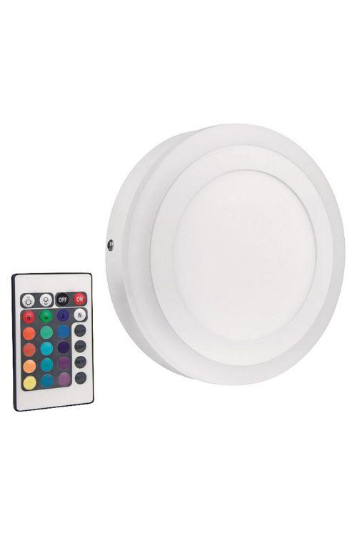 LED stenska in stropna svetilka Ledvance Color & White (19 W, premer: 19 cm, 780 lm, topla bela svetloba, RGB)