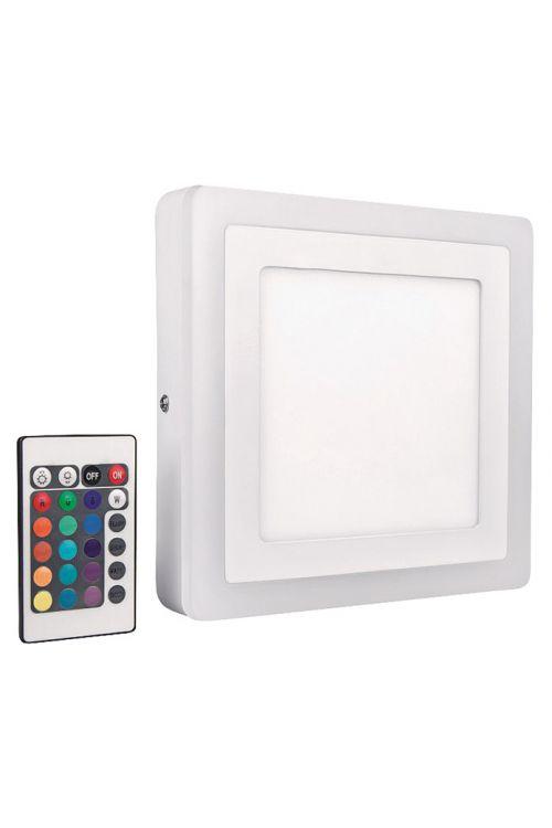 Stenska in stropna LED-svetilka Osram Color & White (kvadratna, 19 W, topla bela)