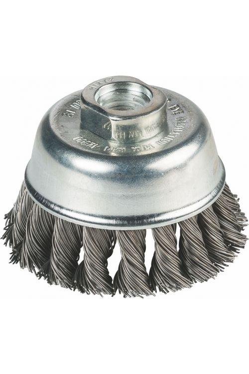 Lončasta žična krtača Craftomat (65 mm, maks. 11000 vrt/min)