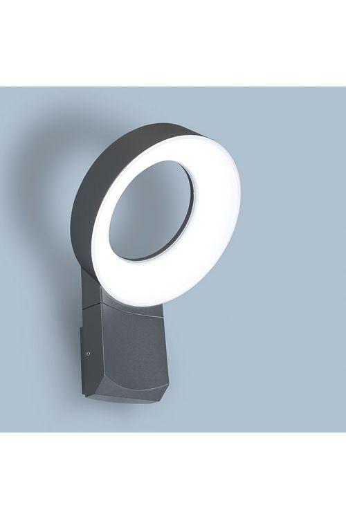 LED-zunanja stenska svetilka Meridan Lutec (1 svetilo, 14 W, toplo bela, IP54, zunanja enota)