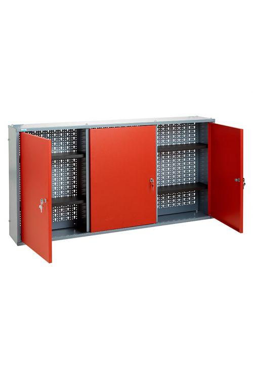 Viseča omarica Küpper (19 x 120 x 60 cm, 4 police, 3 vratca, nosilnost: 30 kg)