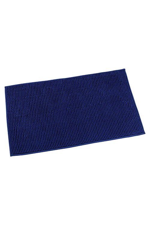 Tepih za kopalnico Camargue Zottel (50 x 80 cm, temno moder, mikrovlakna)