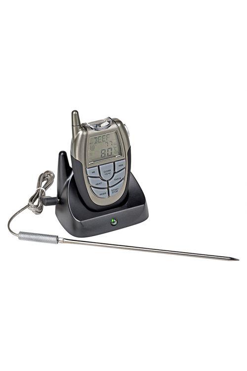 Digitalni termometer za žar KINGSTONE   (d 10,5 x 6,5 x v 2,5 cm, -10° do +250° C)