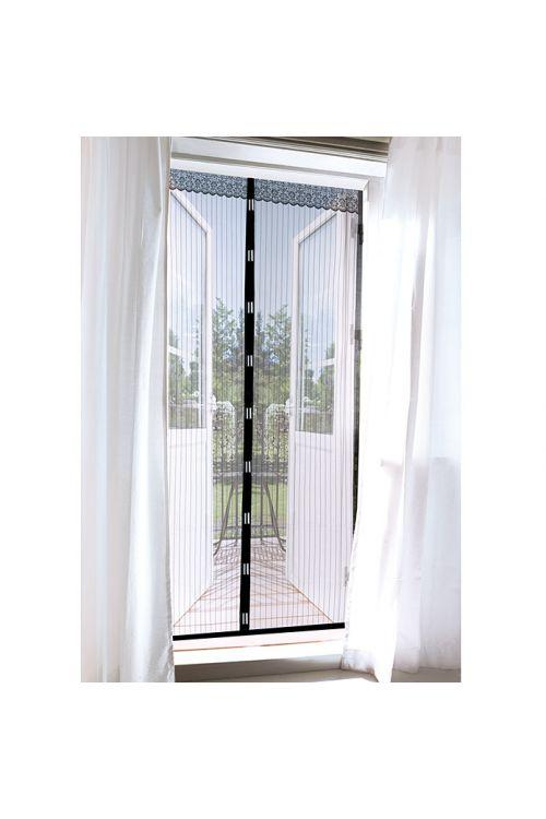 Zaščitna mreža proti mrčesu EASYmaxx (za vrata, 0,90 x 2,10 m, črne barve)