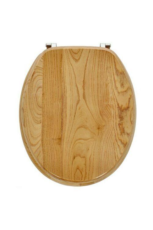 WC deska POSEIDON Jesen (lesena)