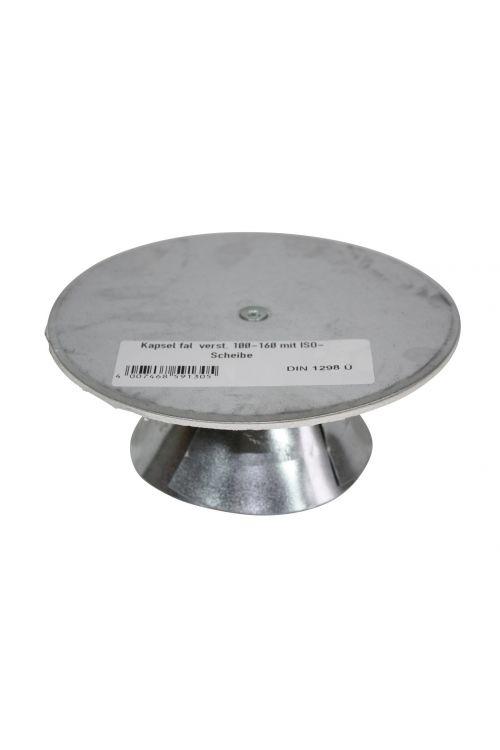 Rozeta za dimno cev (Ø 160 mm, siva)