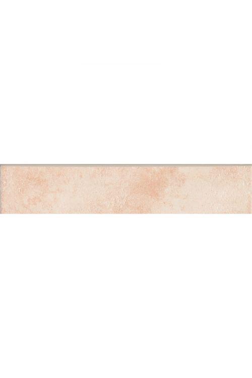 Robna ploščica Sforza (8 x 31 cm, bež, sijaj)