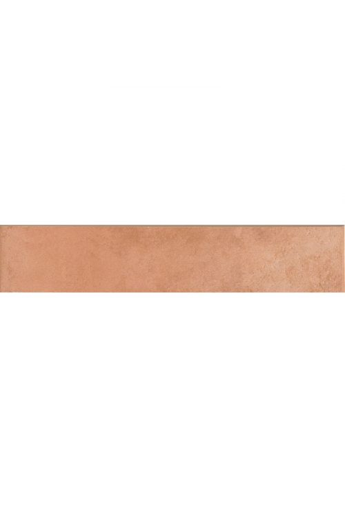 Robna ploščica Sforza Cotto (8 x 31 cm, opečnato rjava, glazirana)