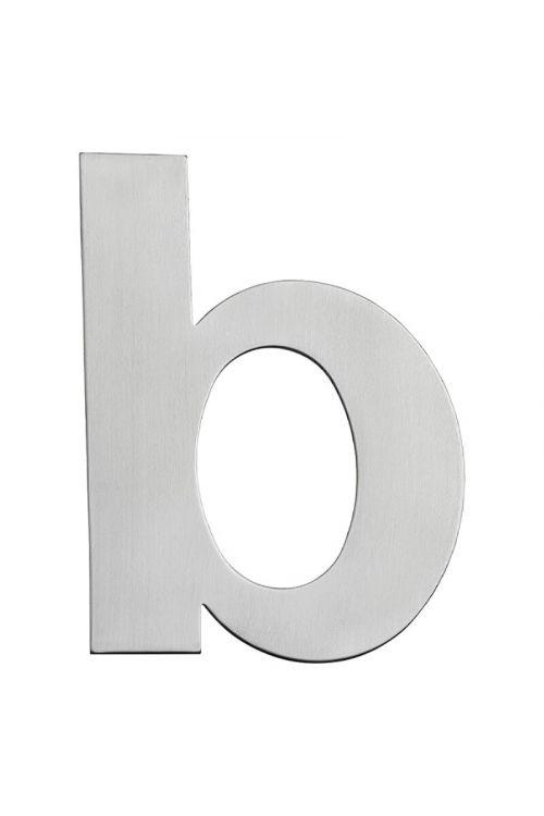 Hišna številka B Portaferm (višina: 15 cm, nerjavno jeklo, motiv: B)