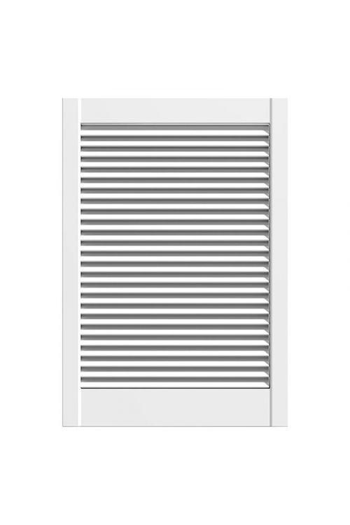 Lamelna vrata (bor, 76,2 x 49,4 cm, 28 mm, vrsta lamel: odprte, bela)