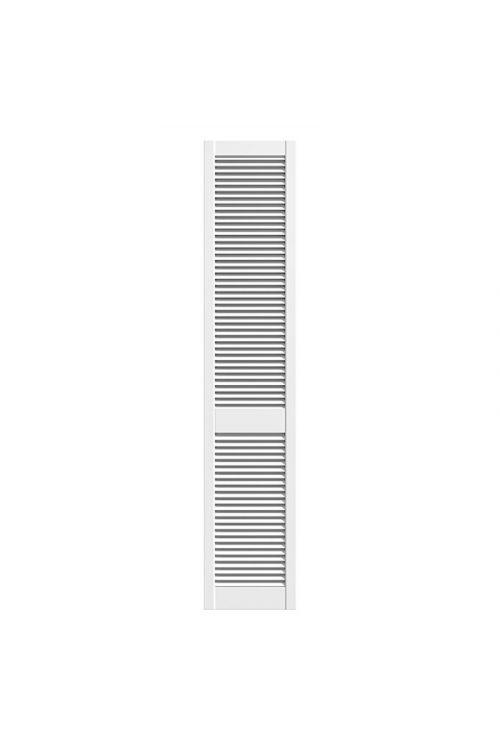 Lamelna vrata (bor, 198,5 x 39,4 cm, 28 mm, vrsta lamel: odprte, bela)