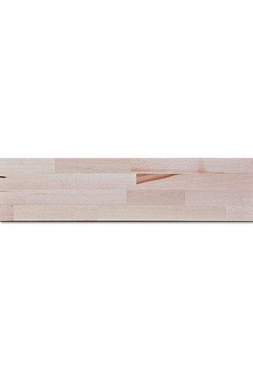 Lepljen les, bukev (250 x 40 cm, 18 mm)