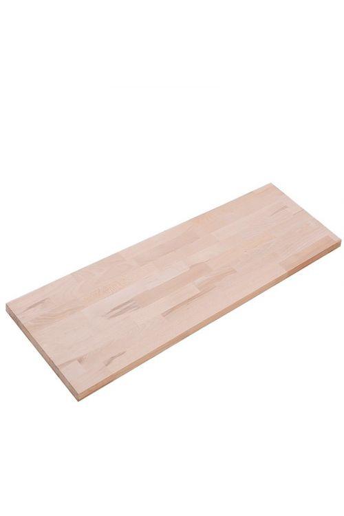 Delovna plošča Exclusivholz (3.000 x 600 x 18 mm, klasa C/C, bukev, masivna, rustikalna)