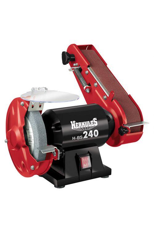 Namizni tračni brusilnik Herkules H-BS 240  (240 W, dimenzija traku: 50 x 686 mm, hitrost traku: 900 m/min)