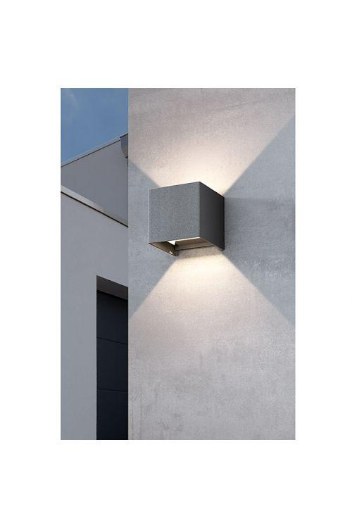 Zunanja stenska LED svetilka Starlux Umea (8 W, d 10 x š 10 x v 10 cm, IP54)