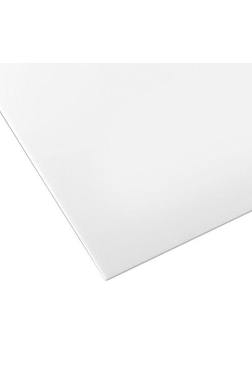 Umetno steklo Owocor (ravno, opalno, polistirol, 100 cm x 100 cm x 2,5 mm)
