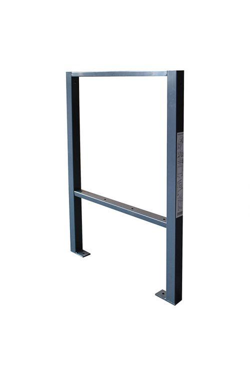 Podnožje za delovno mizo RAL 7016 (58 x 82,5 cm, jeklo)