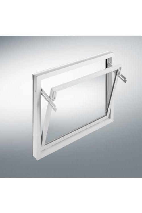 Okno Mealon  (nagibno, 600 x 500 mm, PVC, belo)