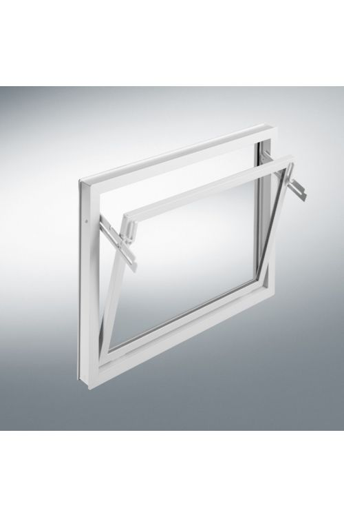 Okno Mealon  (nagibno, 800 x 400 mm, PVC, belo)