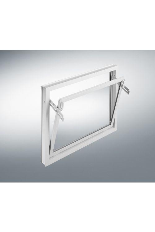 Nagibno okno Mealon (ISO 14, 100x60 cm, belo)