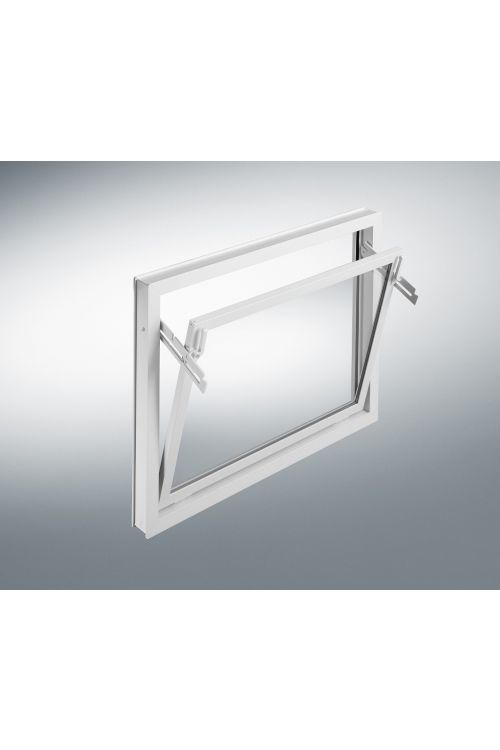 Nagibno okno Mealon (ISO 14, 80x40 cm, belo)