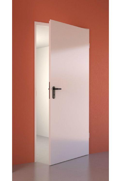 Notranja vrata Hörmann (2000 x 1000 mm, kovinska, bela, desna, s kljuko in tesnilom)