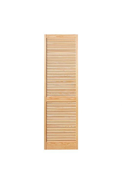 Lamelna vrata (Š x V: 394 x 1.985 mm, vrsta lamel: odprte, naravno)