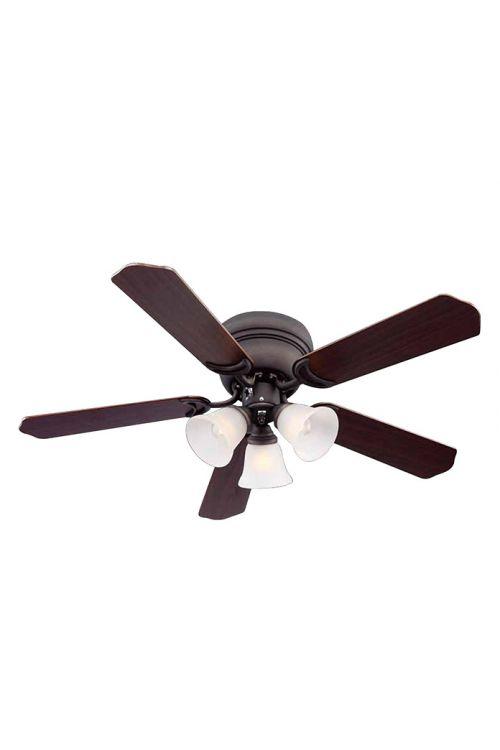 Stropni ventilator Proklima Ontario (90 cm, oreh/češnja, maks. moč: 60 W)