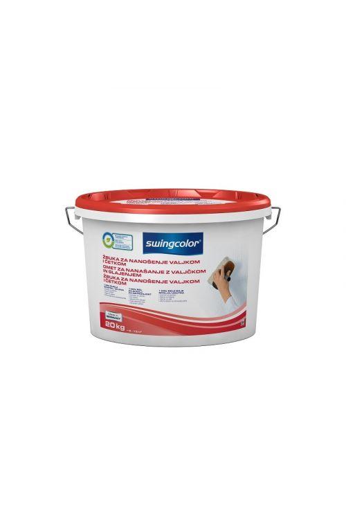 Notranji omet za nanašanje z valjčkom in glajenjem SWINGCOLOR (20 kg)