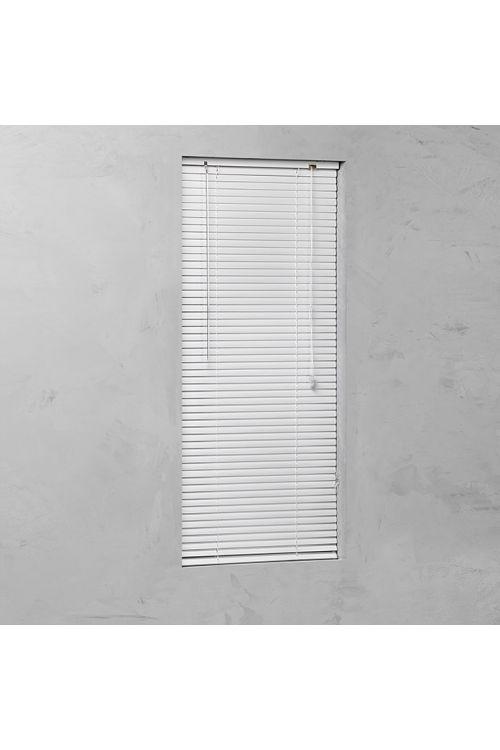Alu žaluzija BASIC (80 x 140 cm, notarnja uporaba, bela)