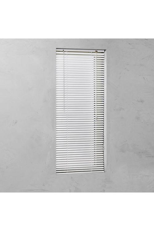 Alu žaluzija BASIC (60 x 250 cm, 25 mm, notranja uporaba, bela)