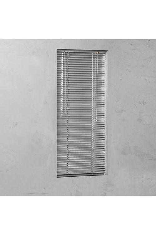 Alu žaluzija BASIC (100 x 140 cm, notarnja uporaba, srebrna)