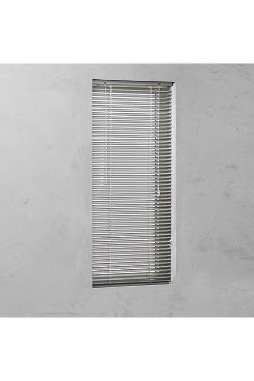 Alu žaluzija BASIC (100 x 175 cm, 25 mm, notranja uporaba, srebrna)