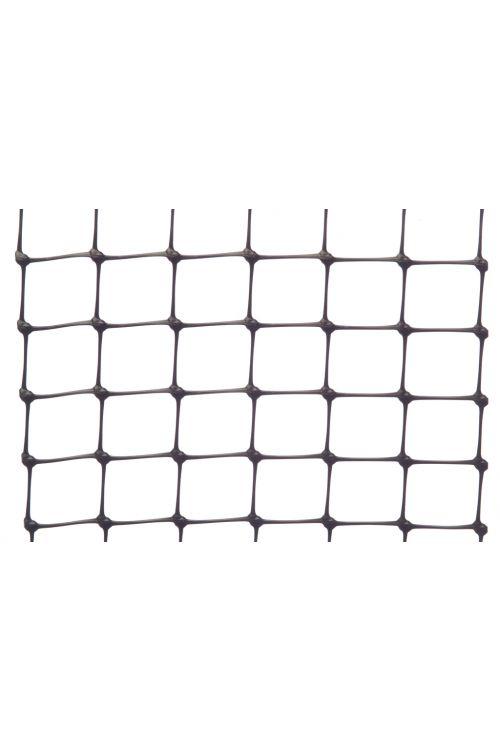 Ograjna mreža Nortene Avinet 90 (10 x 1 m, 16 x 16 mm, črna)