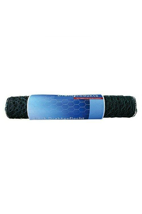 Pletena mreža Stabilit (dolžina: 10 m, širina zanke: 13 mm, zelena)