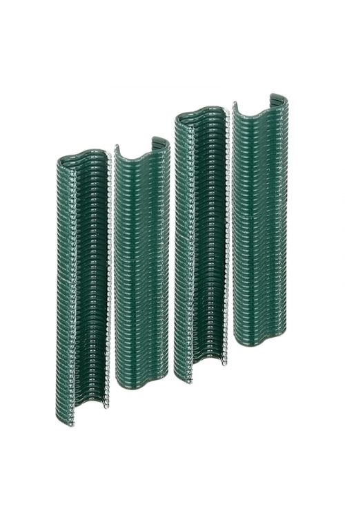 Žične sponke (200 kosov, zelene barve)