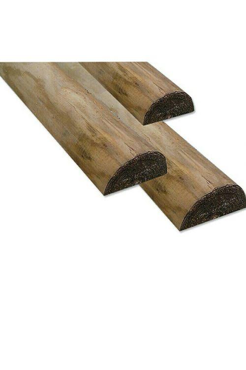 Polkrožni les (250 x 7 x 3 cm, smreka)