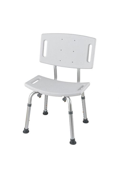 Sedež za kad Careosan (bel/krom, z naslonom)
