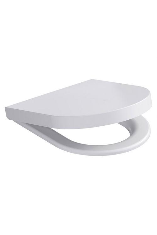 WC deska Camargue San Francisco (duroplast, počasno spuščanje, snemljiva, bela)