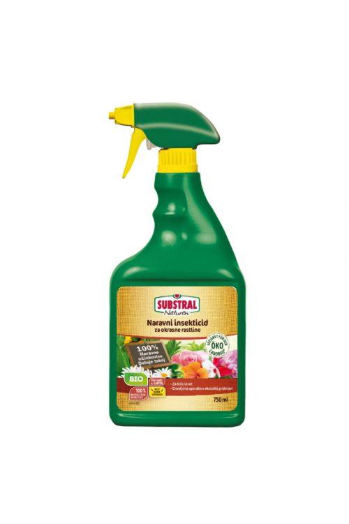 Naravni bio insekticid za okrasne rastline Naturen (750 ml, pršilka, neškodljivo čebelam)