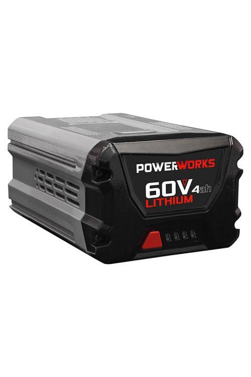 Baterija POWERWORKS P60B4 4 Ah, 60 V (60 V, 4 Ah, prikaz napolnjenosti)