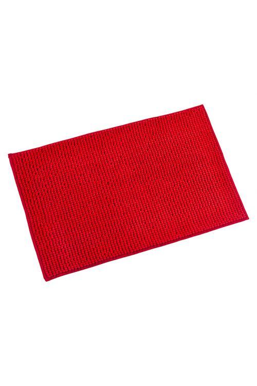 Tepih za kopalnico Camargue Zottel (50 x 80 cm, rdeč, mikrovlakna)
