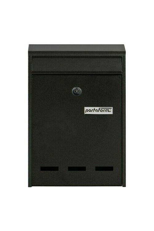 Poštni nabiralnik Portaferm PM 11 (7,5 x 21,5 x 31,5 cm, kovinski, sive barve)